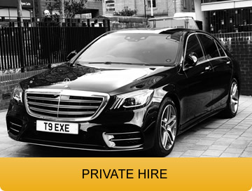 Private Hire chauffeur